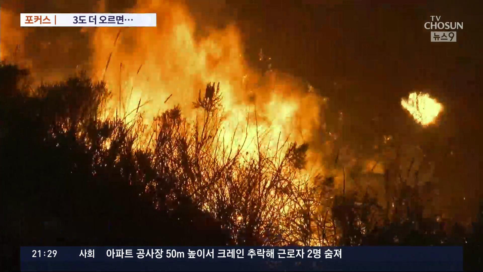 [포커스] 3도 더 오르면 세계 50개 도시 '침수'…김포공항도 '위험'