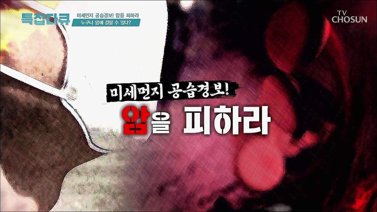 특집다큐 30회 - 미세먼지 공습경보 암을 피하라